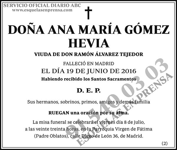 Ana María Gómez Hevia